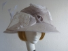 Cappelli Condici Silver Grey Occasion hat